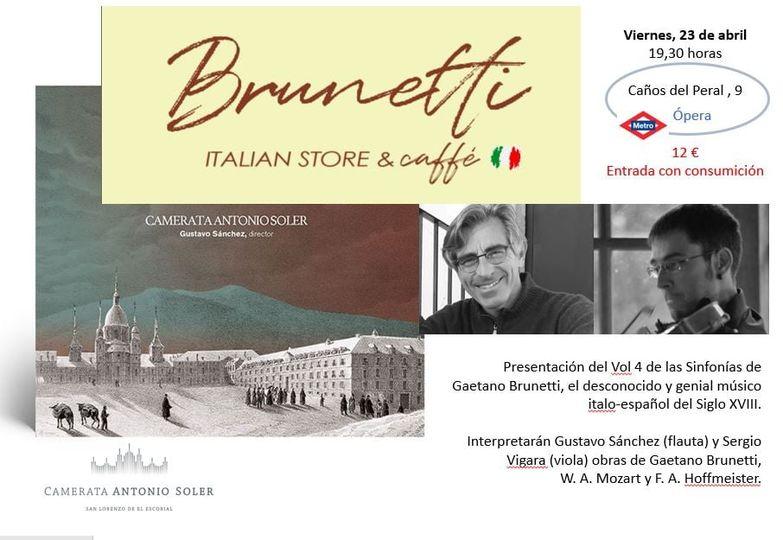 Cartel_Café Brunetti